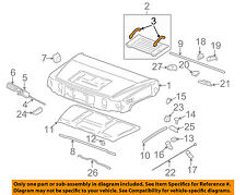 Hummer GM OEM 03-09 H2 Hood-Handle 25928162