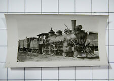 St. Lawrence & Hudson Railroad: Engine 6 on Penny Branch: 1923 Train Photo