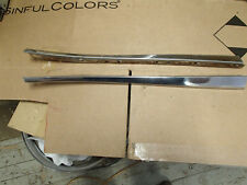 Top of Quarter Moldings 1967 Oldsmobile 98 Conviertible at Side Window Opening