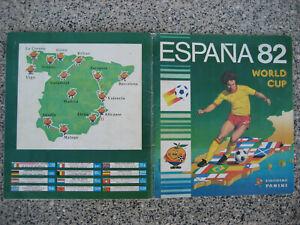 Panini Espana 82 World Cup komplettes Album sehr guter Zustand original !! WM 82