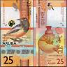 Aruba 25 Florin 2019 UNC P New