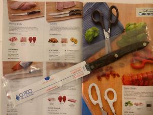 "NEW Cutco 1729 KU Serrated Trimmer Knife 6 3/4"" Blade Made In USA"