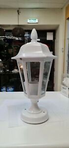 Iron and Glass Outdoor Lantern