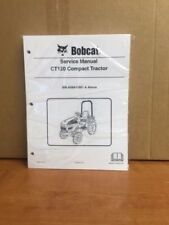 Bobcat CT120 Compact Tractor Operation & SERVICE MANUAL SET 6903098 6986522