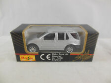Rare Maisto 11001 Mercedes Benz ML350 in Silver Scale 1:64 Boxed 1999