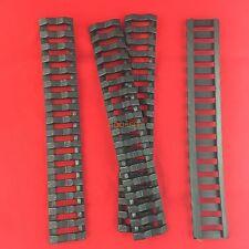 BLACK Ladder Rail Cover pack of 4 Carbine Length Quad Rails Handguard