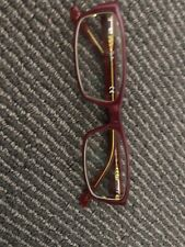 EUC Ray Ban Optical Frame Plum Red