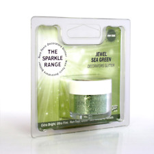 JEWEL SEA GREEN- THE SPARKLE RANGE RAINBOW DUST - GLITTER