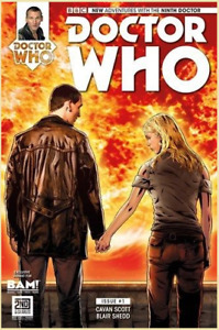 DOCTOR WHO: THE NINTH DOCTOR #1 BAM! Books-a-Million Nine & Rose Variant, 9th NM