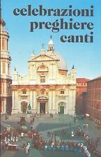 CELEBRAZIONI PREGHIERE CANTI 1989 - CHARITAS  U.N. I.T.A.L.S.I.