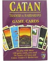 Catan Expansion: Traders and Barbarians Game Cards [New ] Board Game