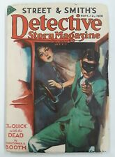 **DETECTIVE STORY MAGAZINE**(SEP. 12, 1931)**MASKED GUNMAN COVER**GD**SEE PICS**