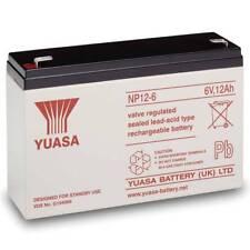 Yuasa 6V 12AH Battery NP12-6