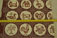 """Green /& Tan on Quilter/'s Cotton Marcus Bros By-the-Half-Yard M5079 44/"""""""