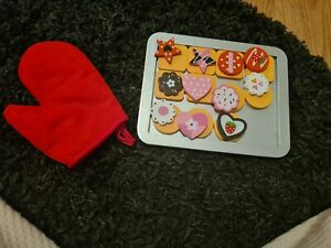 Kids Role Play Kitchen Magnetic Cookie Set