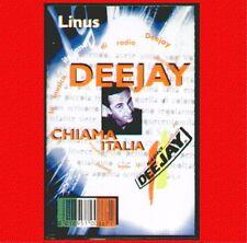 """COMPILATION """" LINUS - DEEJAY CHIAMA ITALIA """" MUSICASSETTA NUOVA  DI NEGOZIO"""