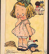 """JILTED"" BAD ROMANCE,GIRL,TOY DOLL,WIEDERSEIM POSTCARD"