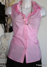 ♥ ESPRIT ♥ Bluse Shirt CHEST GATH cotton rosa 38 M Baumwolle NEU BLOUSE