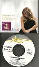 JOSS STONE Right to be Wrong w/ RARE EDIT PROMO Radio DJ CD Single 2004 USA MINT