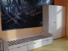 Jugendzimmer Kinderzimmer Komplett Kojenbett Jugendbett Schrank 3 Tür Massivholz