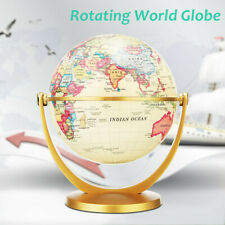 360° Rotating World Earth Globe Map Geography Educational Toy Desktop Decor New