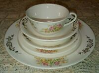3 WS George Derwood 5PC Tulip Place Settings Dinner Bread Plate Cup Saucer Bowl