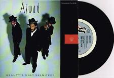 "ASWAD - BEAUTY'S ONLY SKIN DEEP - RARE 7"" PROMO VINYL RECORD w PICT SLV - 1989"