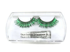 Icing Green Metallic False Eye Lashes Girl's / Women's One Size New