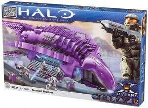 Mega Bloks Halo Buildable Covenant Phantom 96941Damaged Box