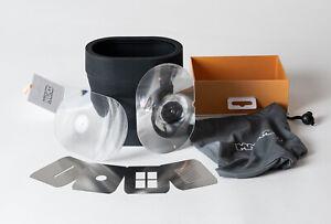 MagMod MagBeam Kit. Flash Range Extender w/ Wide & Tele Fresnel Lenses & Masks