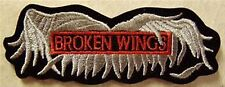 BROKEN WINGS BIKER PATCH
