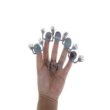 6pcs/lot Novel PVC Ghost Finger Puppet for Halloween Funny Toy Action Figure SW