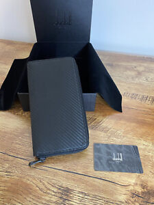 Alfred Dunhill Chassis Zipped Coat Wallet BNWB  RRP 10 Card £475