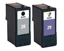 Lexmark 28 & 29 Refilled X2550 X5070 X5075 Ink Cartridges