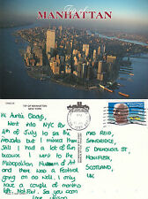 1993 MANHATTAN NEW YORK UNITED STATES COLOUR POSTCARD