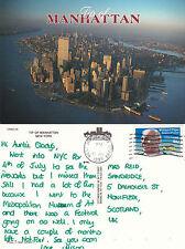 1993 MANHATTAN NEW YORK UNITED STATES COLOUR POSTCARD