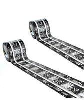 Playtape Classic Rail Train Track Tape - EZ Peel Stick & RESTICK 4 Rolls 60ft