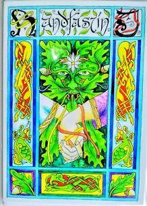 Pagan Card handfasting wedding wife engagement medieval chris Bell amanda clark