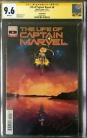 The Life of Captain Marvel #4 CGC 9.6 signed Jen Bartel