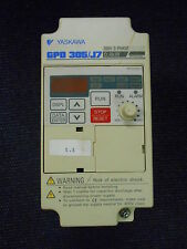 YASKAWA GPD 305/J7 AC DRIVE CIMR-J7AM20P4 200V 3 PHASE 0.4KW (H4-5)