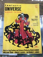 Oct 1956 Fantastic Universe Science Fiction