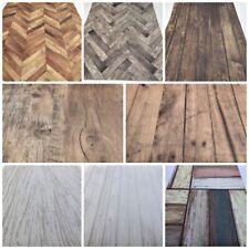Dolls House Wallpaper 1:12 Wood Flooring Panels Oak, Laminate, Parquet Floor