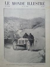 LE MONDE ILLUSTRE 1905 N 2517- LA COUPE GORDON - BENNETT AUTOMOBILE : LEON THERY