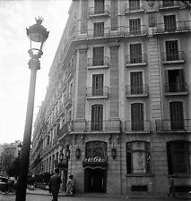 ESPAGNE c. 1951 - Hôtel Colon  Barcelone - Négatif 6 x 6 - Esp 5