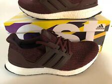 adidas UltraBOOST 4.0 Night Red White Mens Running Shoes Sneakers CM8115 Size 8