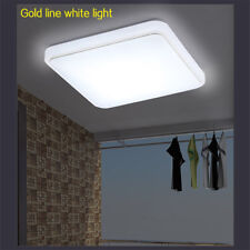 LED Ceiling Down Light 1000LM Flush Mount Kitchen Bedroom Fixture Lamp 12/24/36W