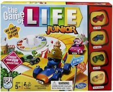Board Games For Kids Ages 4-8 The Game Of Life Junior Family Fun Educational