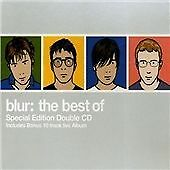 THE BEST OF BLUR - GREATEST HITS 2 X CD EDITION - COUNTRY HOUSE / SONG 2 +