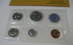 1960P U.S. MINT 5 COIN PROOF SET IN ORIGINAL GOVERNMENT PACKAGING