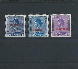 COOK IS 1926-28 SET OF THREE MNH SG 90/92 CAT £40